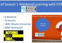 8 Weekends of ConfigMgr Intune Learning Season