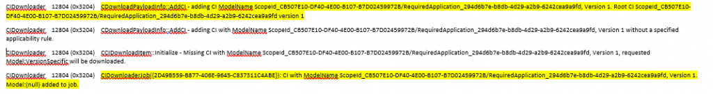 Deep Dive SCCM Application Model Troubleshooting - Client End 2