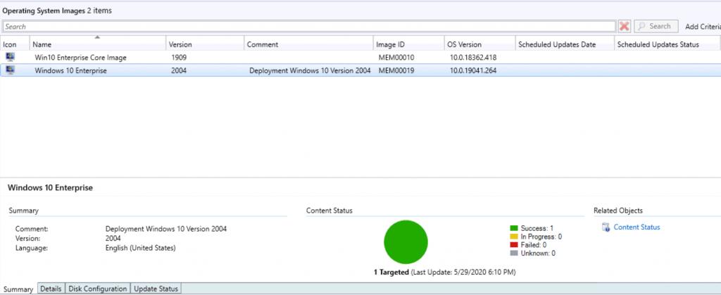 Deploy Windows 10 2004 Using SCCM | ConfigMgr
