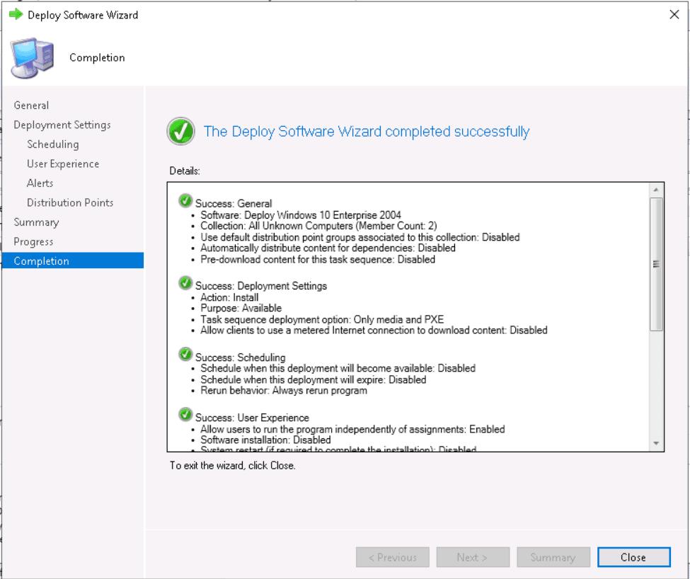 Deploy Windows 10 2004 Using SCCM | ConfigMgr | MEMCM 31