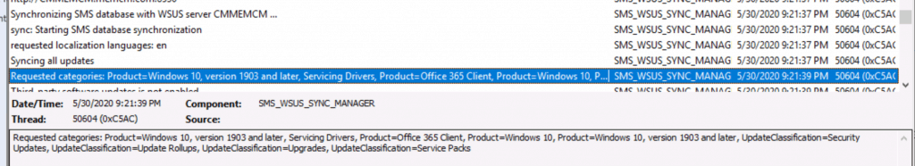 Enable Windows 10 servicing using SCCM - ConfigMgr