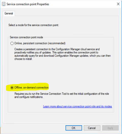 SCCM Upgrade with an Offline Service Connection Point| ConfigMgr 2