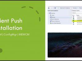 ConfigMgr Client Push Installation