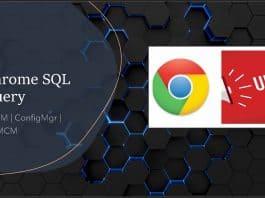ConfigMgr Custom Report for Chrome Browser