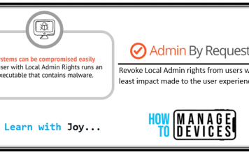control local admin rights of AADJ Windows 10 devices - Provide elevated privilege on-demand to end-users without compromising security - Privileged Access Management solution