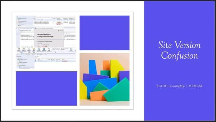 SCCM 2002 Site Version Confusion