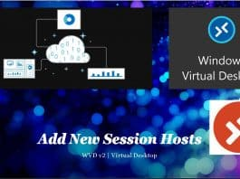 WVD Add New Session Hosts to Existing Host Pool