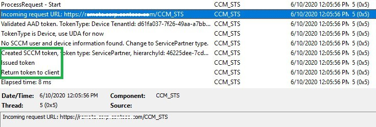 CCM_STS.log CMG connection point server