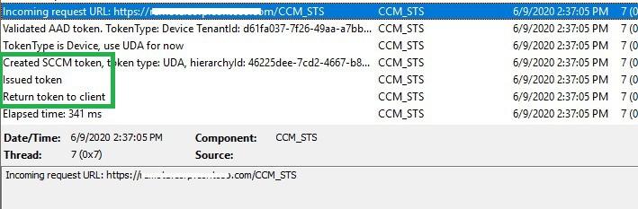 CCM_Token AAD Token