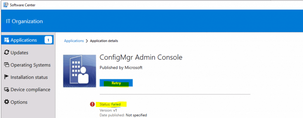 Silent Install ConfigMgr Admin Console - ConfigMgr Admin Console Silent Install