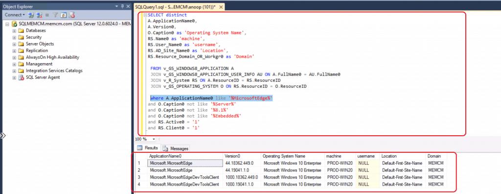 ConfigMgr Microsoft Edge Chromium Report | Legacy Edge | SCCM