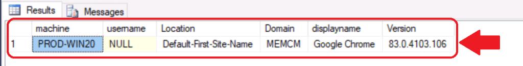 ConfigMgr Custom Report for Chrome Browser   SCCM   SQL Query 1