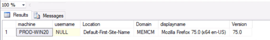 ConfigMgr Custom Report for Firefox Browser | SCCM | SQL Query 1
