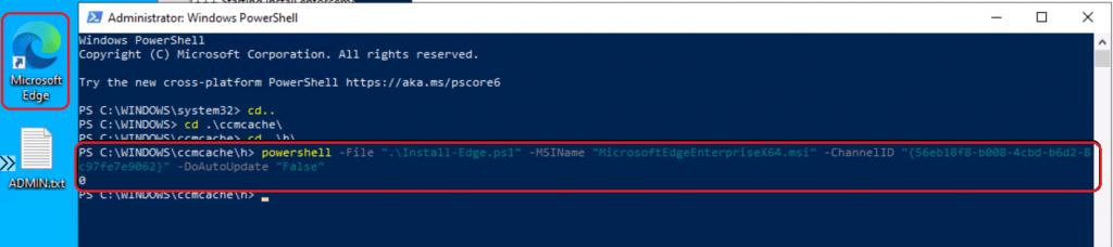 ConfigMgr Edge Chromium Unmatched Exit Code (1) Execution Failed | SCCM 6