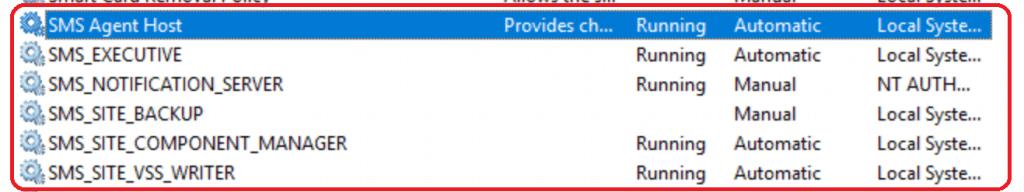 SMS Services - SCCM 2002 KB4567007 Stuck at Post Installation | ConfigMgr