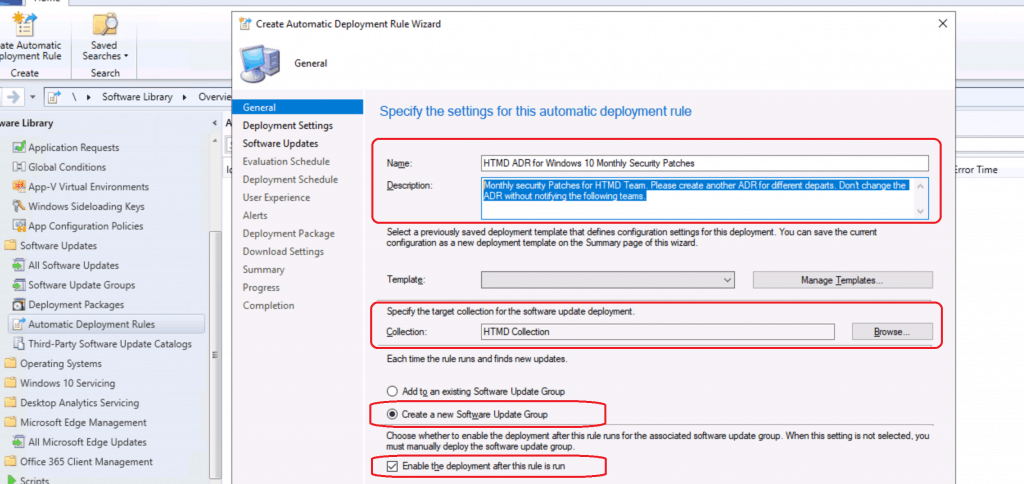 Create SCCM Automatic Deployment Rule | ADR | ConfigMgr
