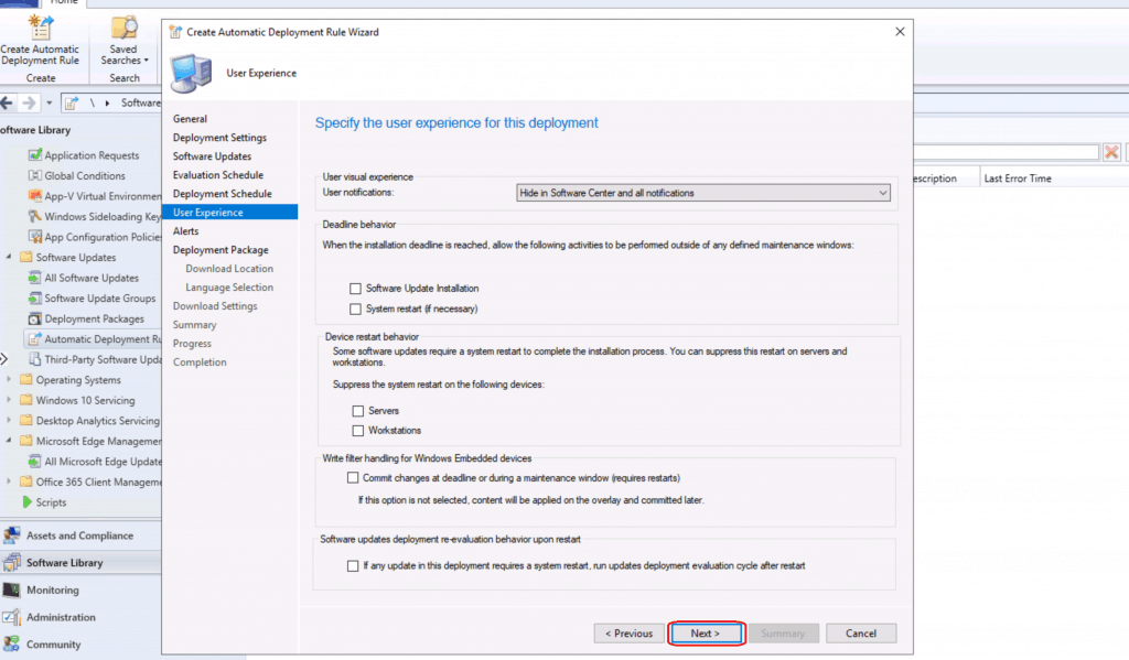Create SCCM Automatic Deployment Rule | ADR | ConfigMgr 3
