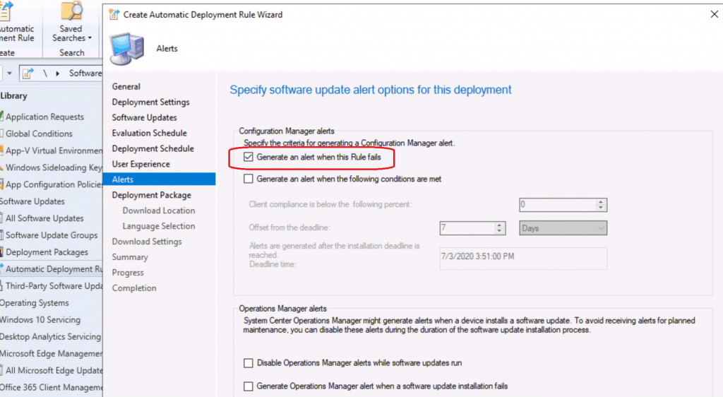 Create SCCM Automatic Deployment Rule | ADR | ConfigMgr 4