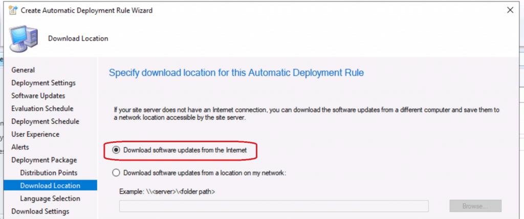 Create SCCM Automatic Deployment Rule   ADR   ConfigMgr 6
