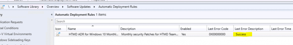 Create SCCM Automatic Deployment Rule | ADR | ConfigMgr 9