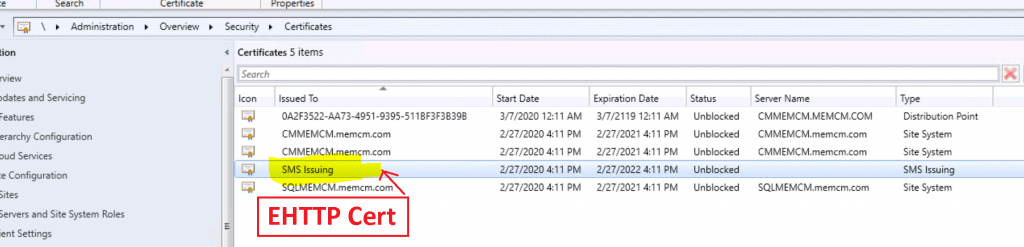 ConfigMgr Sites that don't have Proper HTTPS Configuration Issue SCCM