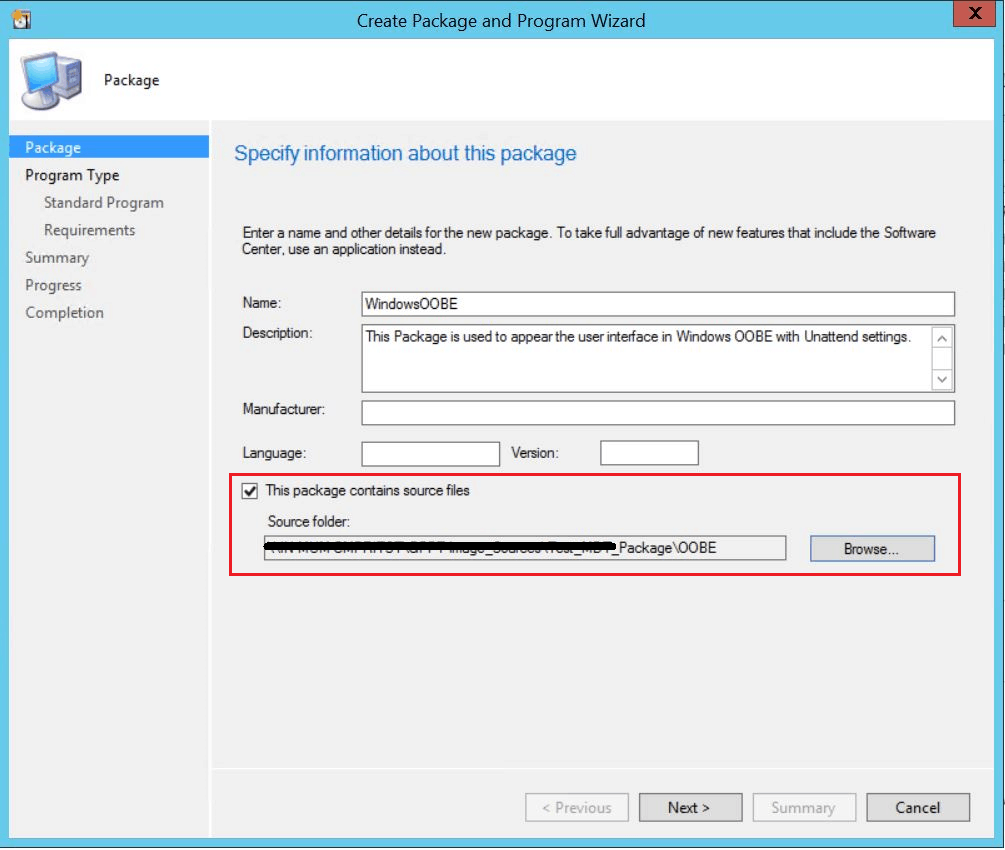 SCCM Customize Windows Out of Box Experience OOBE Using ConfigMgr 7