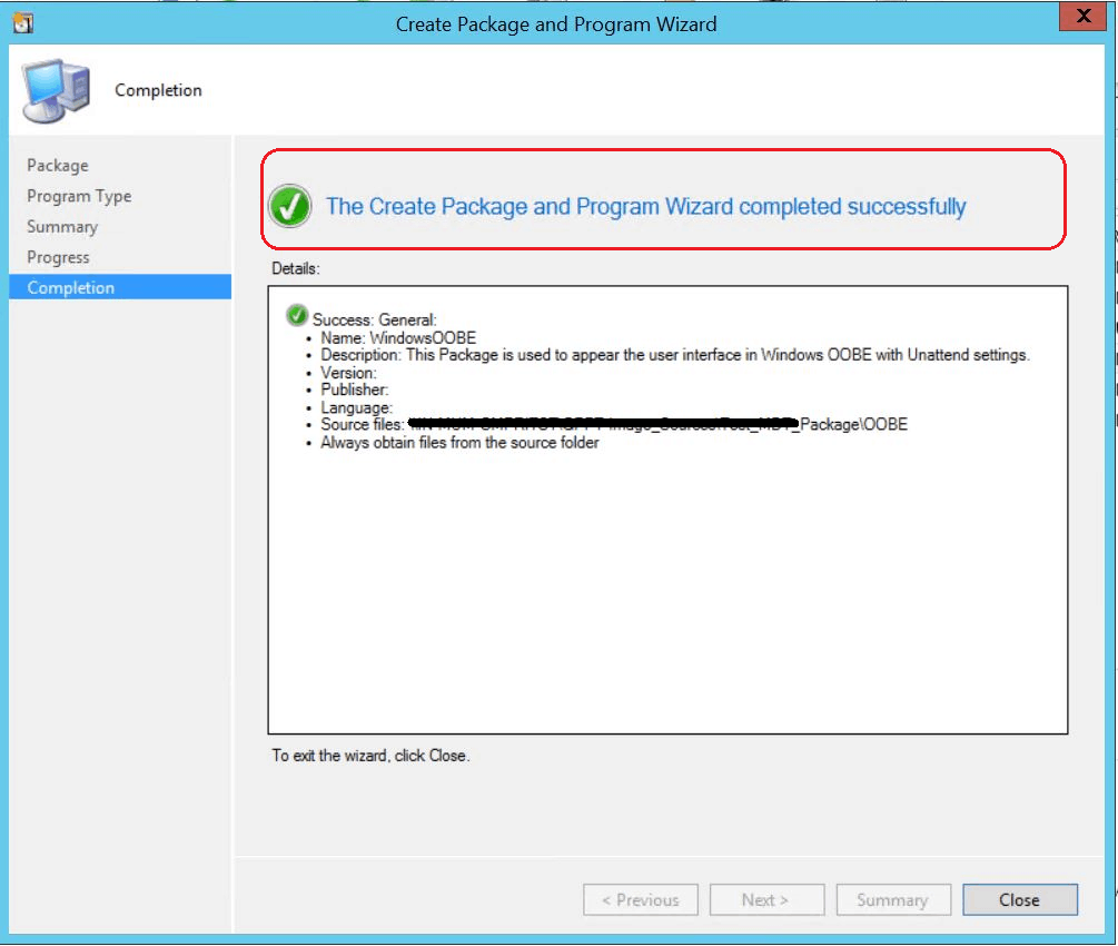 SCCM Customize Windows Out of Box Experience OOBE Using ConfigMgr 8