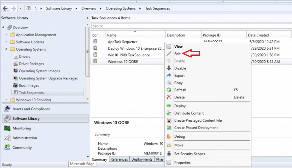 SCCM Customize Windows Out of Box Experience OOBE Using ConfigMgr 15
