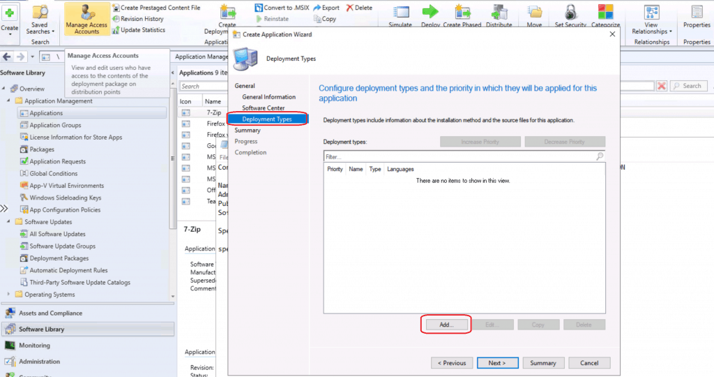 Create SCCM Admin Console Application Using ConfigMgr ConfigMgr Admin Console Silent Install