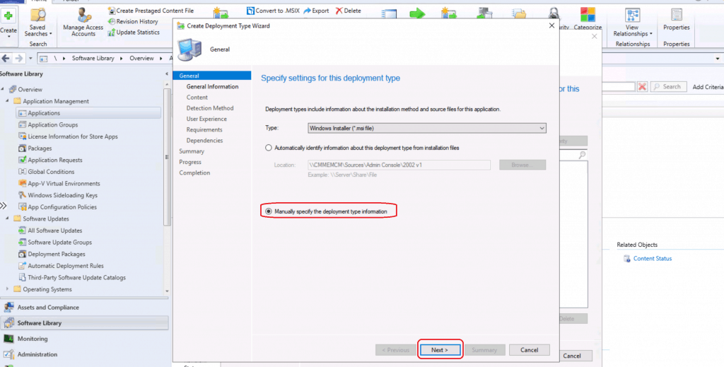Create SCCM Admin Console Application Using ConfigMgr - ConfigMgr Admin Console Silent Install