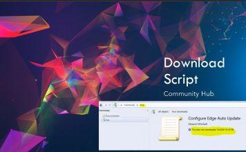 ConfigMgr Community Hub Download Script