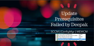 FIX SCCM Update Prerequisites Failed Issue ConfigMgr