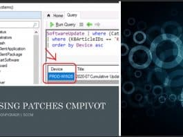 Find Devices Missing Patches using ConfigMgr CMPivot Query