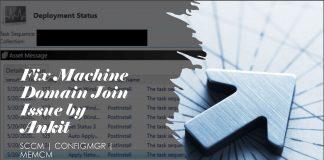 Fix SCCM OSD Machine Domain Join Issue ldap_add_s failed 0x35 0x216d