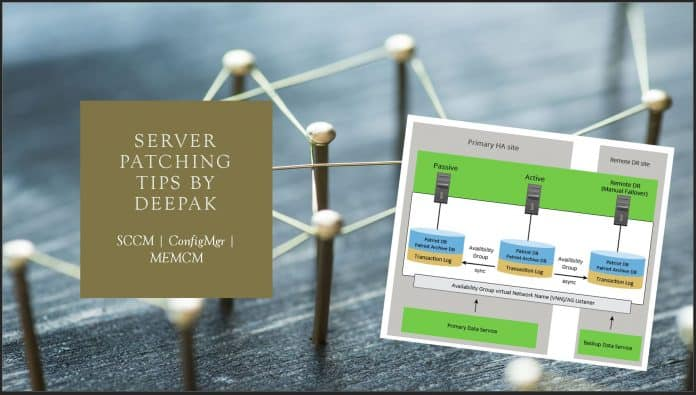 SCCM Server Patching Tips Using Orchestration Groups Scripts