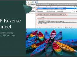 WVD Event Logs RDP Listener TCP Reverse Connect Windows 10