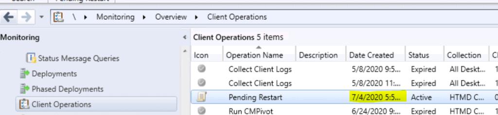 Restart Windows 10 Device using SCCM | ConfigMgr