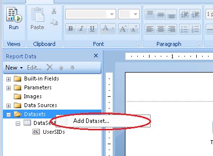 Add DataSet SCCM Create Custom Report Using Report Builder | ConfigMgr | Part 1