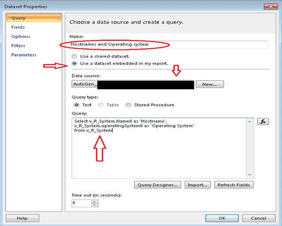 Choose Data Source - SCCM Create Custom Report Using Report Builder | ConfigMgr | Part 1