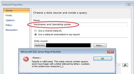 Choose Data Source - SCCM Create Custom Report Using Report Builder   ConfigMgr   Part 1