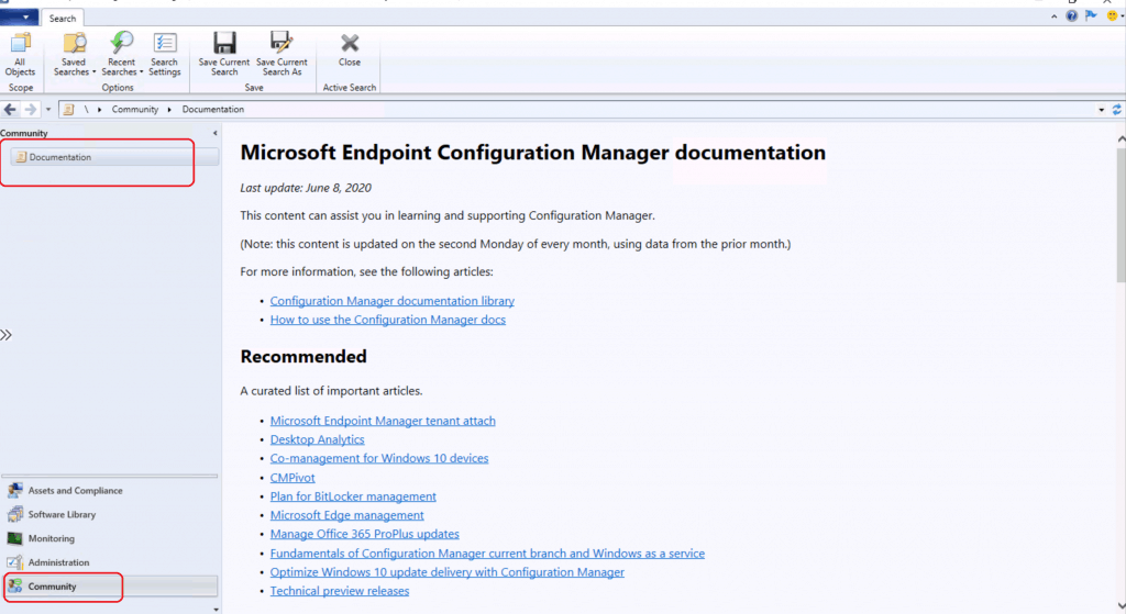 Fix Missing SCCM Community Hub | Enable | ConfigMgr