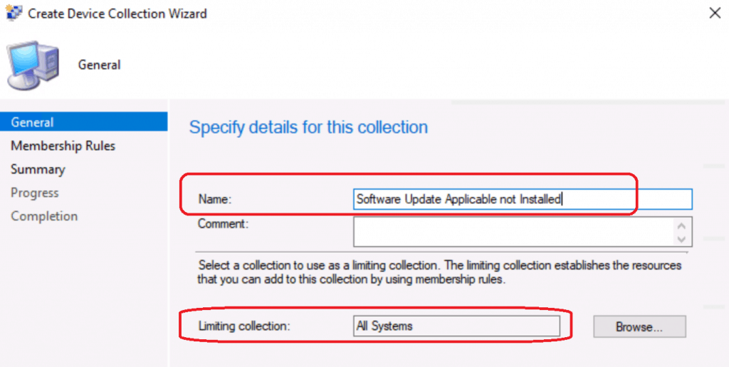 Collection - Find out Missing Security Updates Patches using ConfigMgr CMPivot