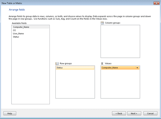 ConfigMgr Application Deployment Status using Custom Report, SQL query, and report builder