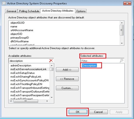 SCCM Deploy Application Based on Active Directory System Description - Configuration Manager