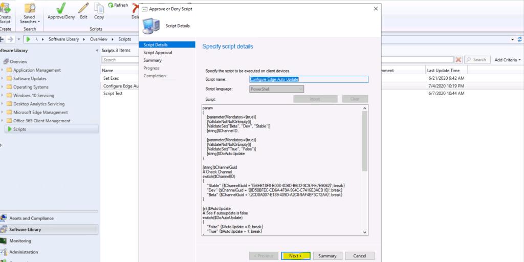 ConfigMgr Community Hub Download Script | Edge Auto Update | SCCM 4