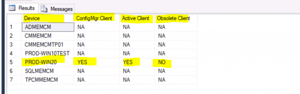 SCCM Client InActive Obsolete Status Using SQL Query |ConfigMgr