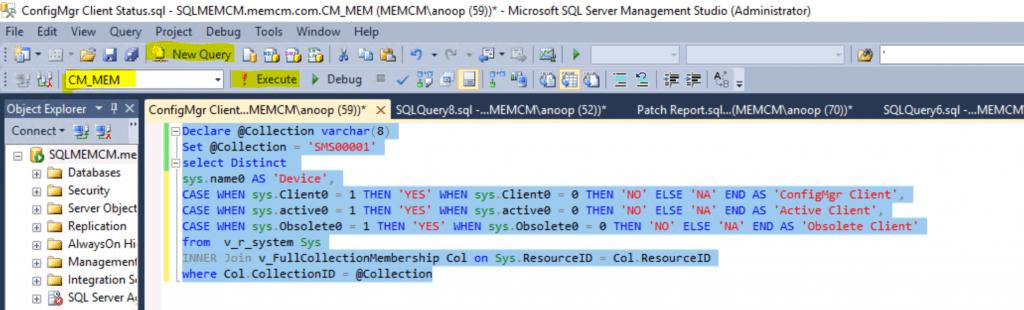 SCCM Client InActive Obsolete Status