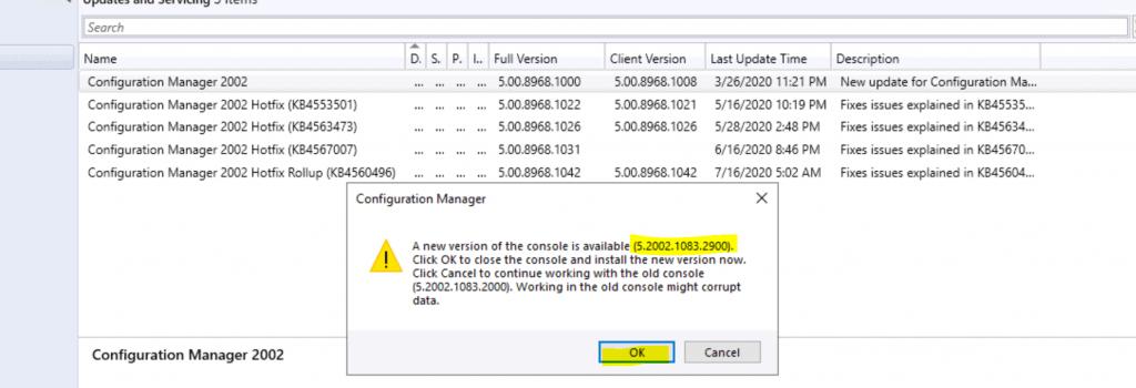 SCCM 2002 Hotfix Rollup KB4560496 | ConfigMgr | Update Rollup | 30 Fixes 6