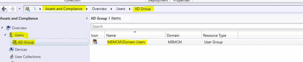 SCCM Query All Active Directory Security Groups Dynamic Collection 2
