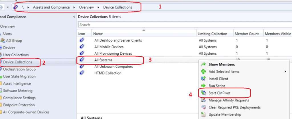 Launch SCCM CMPivot Query Tool - SCCM CMPivot Browser Related Queries Default List of Browsers